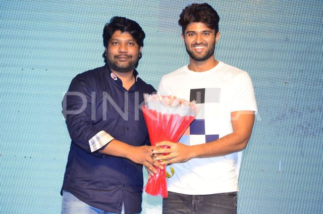 Vijay Deverakonda at the audio launch of Venkatapuram