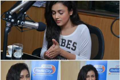 Pictures : Mishti Chakraborty launches a song from Babu Baaga Busy at Radio City