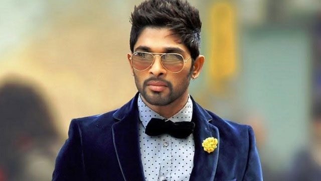 Allu Arjun in a cool look