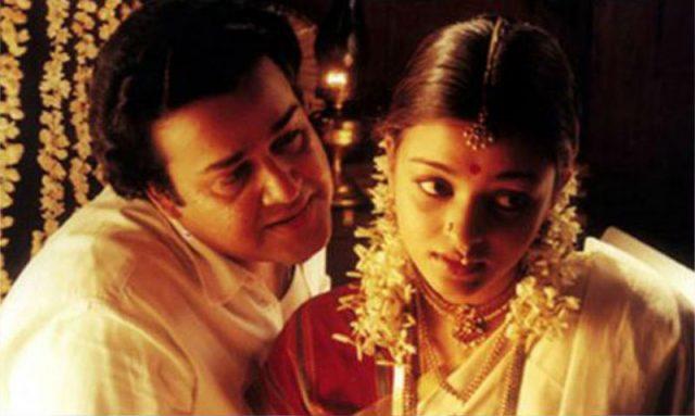 Aishwarya Rai Bachchan in Iruvar with Mohanlal