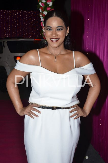 Mumaith Khan at the event