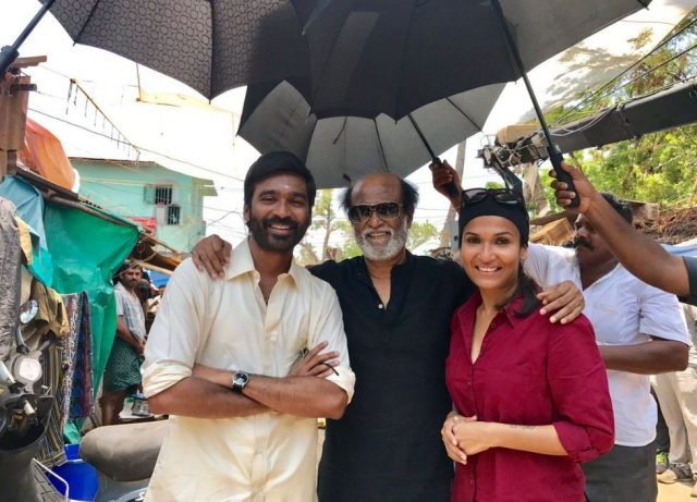 Super Star Rajinikanth on the sets of VIP-2