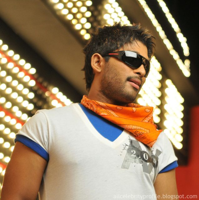 A massy look of Allu Arjun