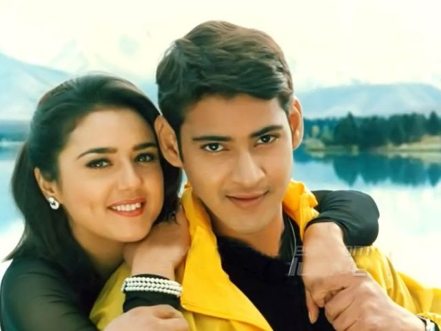 Preity Zinta with Mahesh Babu in Rajakumarudu
