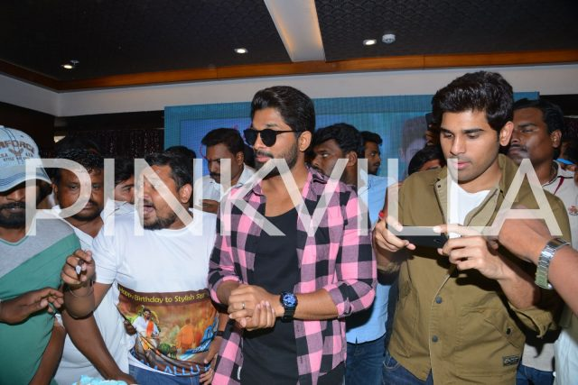 Allu Arjun and his brother Allu Sirish
