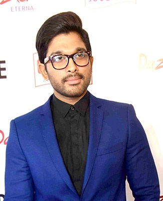 Uber cool look of Allu Arjun