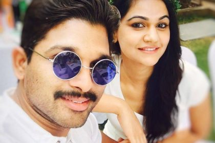 A gorgeous photo of Allu Arjun with his wife Sneha Reddy