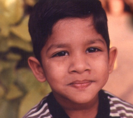 A cute and young Allu Arjun