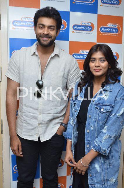 Varun Tej and Hebah Patel