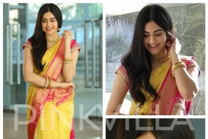 Adah Sharma in a Madhurya Creations saree