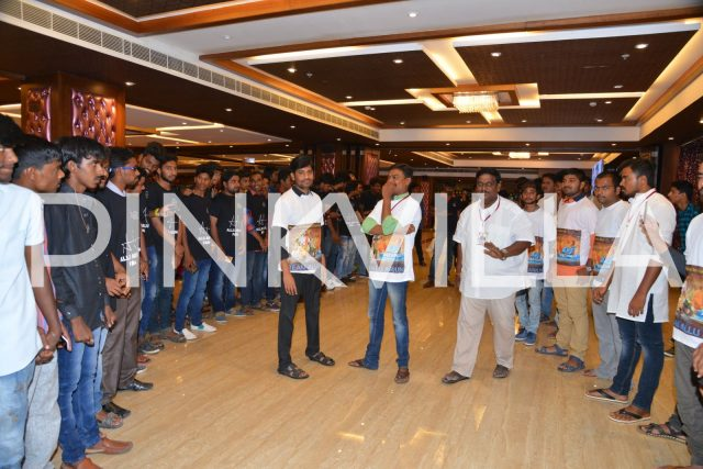 Fans eagerly waiting for Stylish Star Allu Arjun to arrive