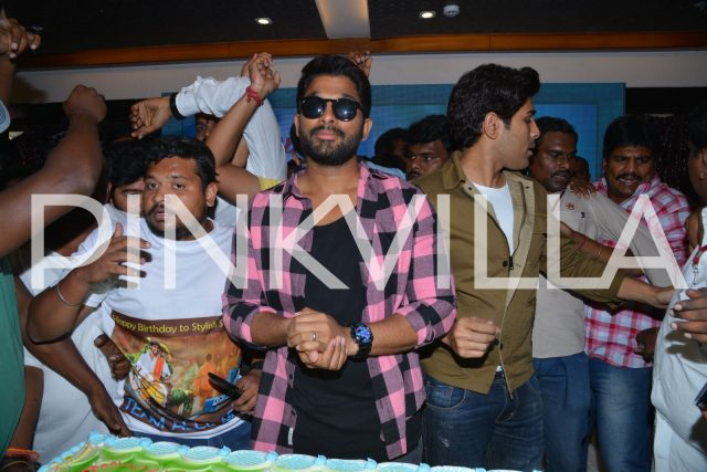 Allu Arjun at the event