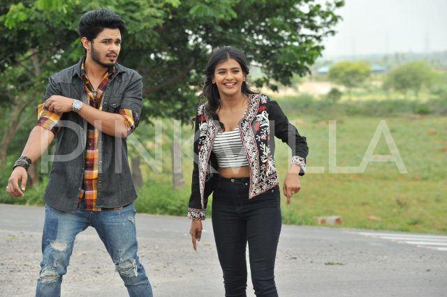 Naga Anvesh and Hebah Patel in Angel