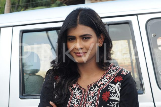Hebah Patel in Angel