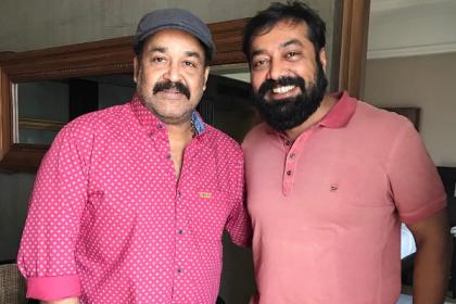 Anurag Kashyap with Mohanlal