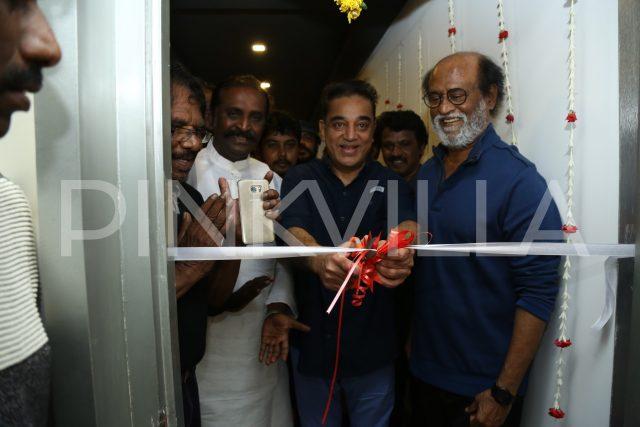 Kamal Haasan and Rajinikanth inaugurate Bharathiraja International Insitute of Cinema
