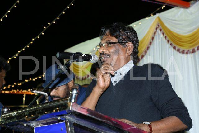 Bharathiraja speaking at the event