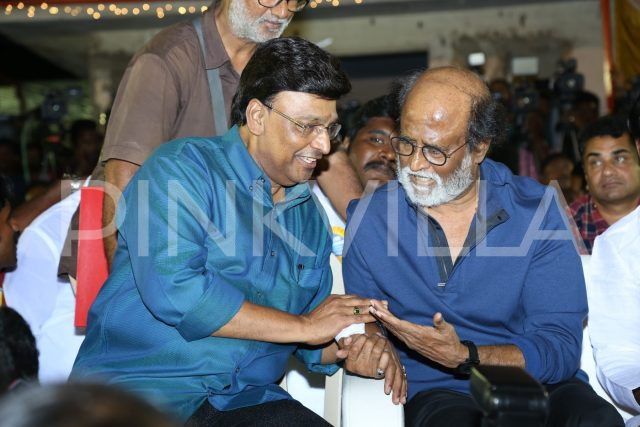 Super Star Rajinikanth in conversation