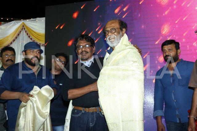 Super Star Rajinikanth felicitated by Bharathiraja