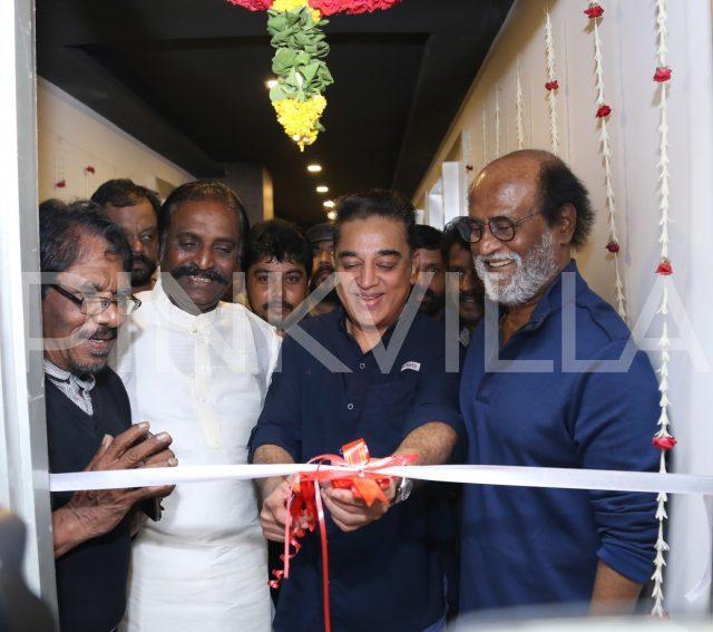 Kamal Haasan inaugurating the preview theatre at BRIIC