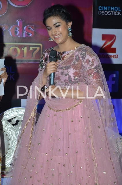 Keerthy Suresh is all smiles at the event