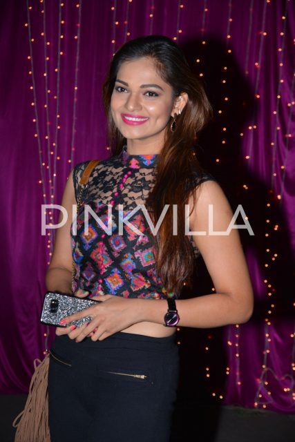 Actress Ashwini at the event