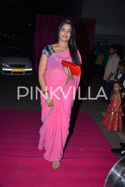 Actress/Host Shyamala at the event