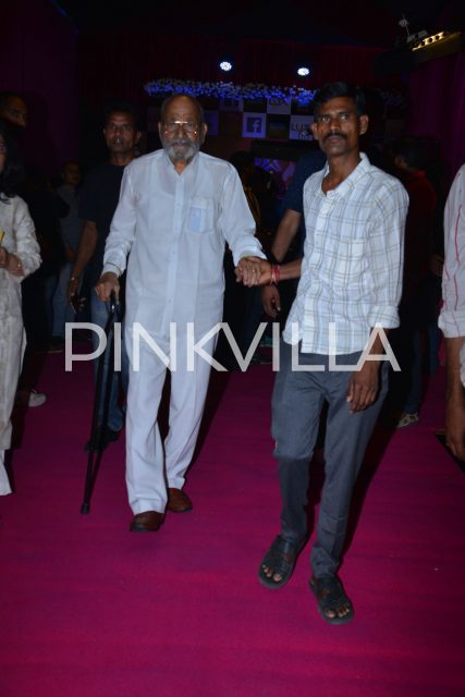 Veteran K Viswanath walking in