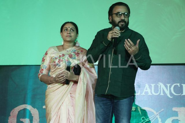 Actor Ponnvanan speaking at the event