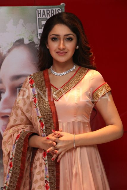 Sayyeshaa at the audio launch