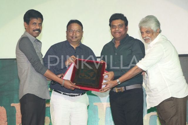 Harris Jayaraj felicitated for completing 50 films with Vanamagan