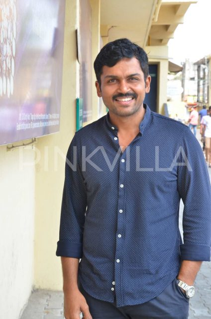 Karthi at Magalir Mattum audio launch
