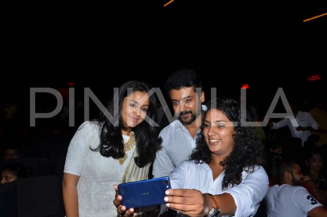 Suriya and Jyothika oblige for a selfie
