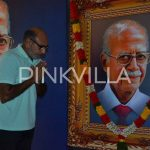 Sathyaraj paying last respects