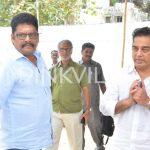 KS Ravi Kumar with Kamal Haasan