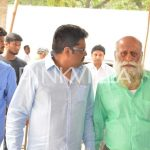 KS Ravi Kumar arrives at the event