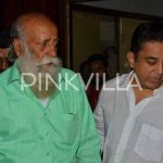 Kamal Haasan with his brother at the event
