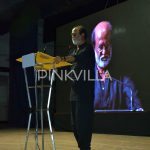 Rajinikanth speaking at the event
