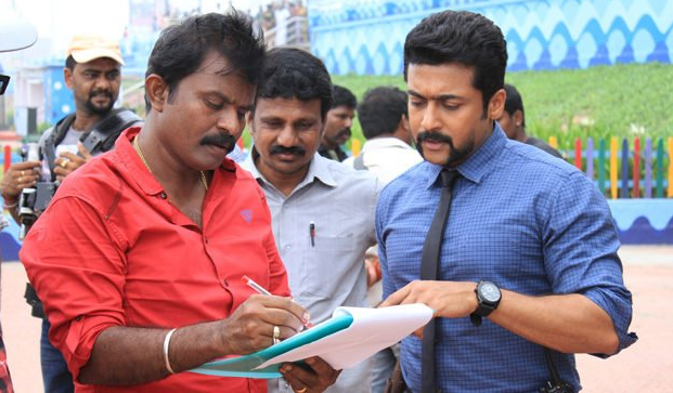 Director Hari and Suriya