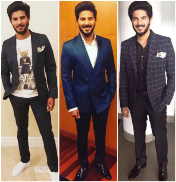 10 outfits worn by Dulquer Salmaan