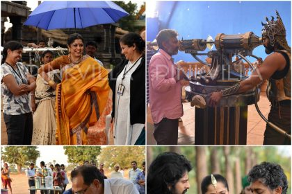 A sneak-peak into the making of Baahubali – The Conclusion
