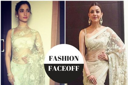 Fashion Faceoff: Tamannaah Bhatia or Kajal Aggarwal, who wore the ivory saree better?