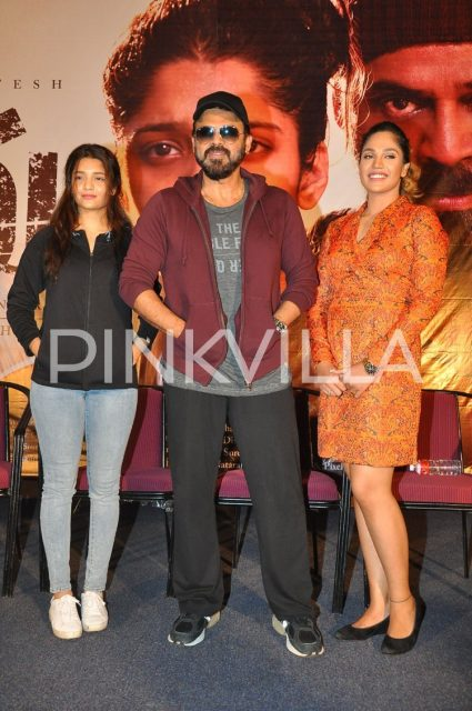Ritika Singh, Mumtaz Sorcar and Venkatesh at the event