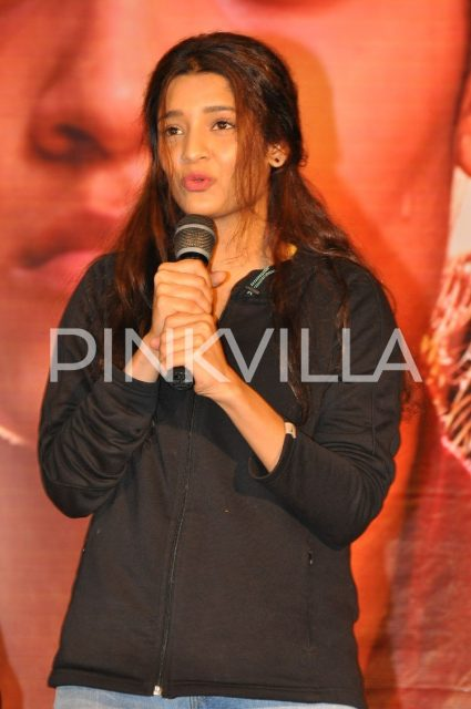 Ritika Singh sharing her experience