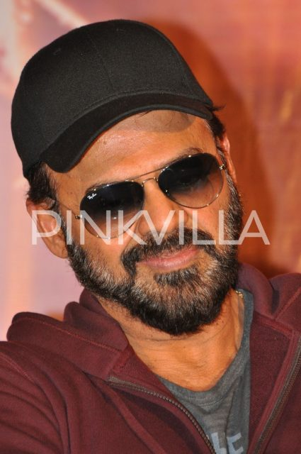 Venkatesh all smiles at the event