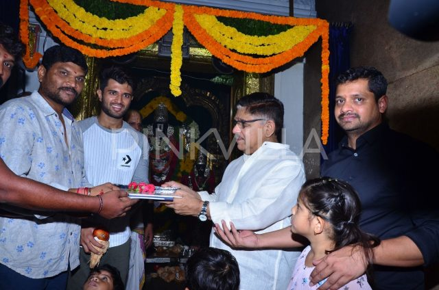Launch of Vijay Deverakonda and Parasuram's film