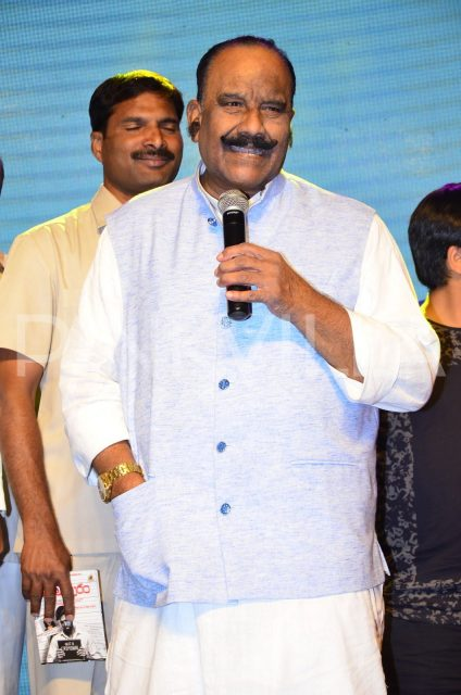 Home Minister Nayani Narsimha Reddy speaking at the audio launch of Venkatapuram