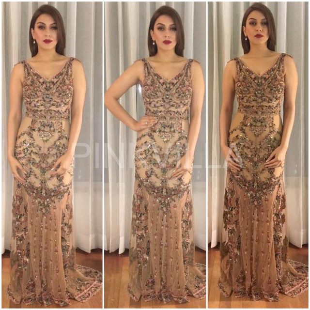 Hansika Motwani in a Rocky S outfit at the TSR Awards