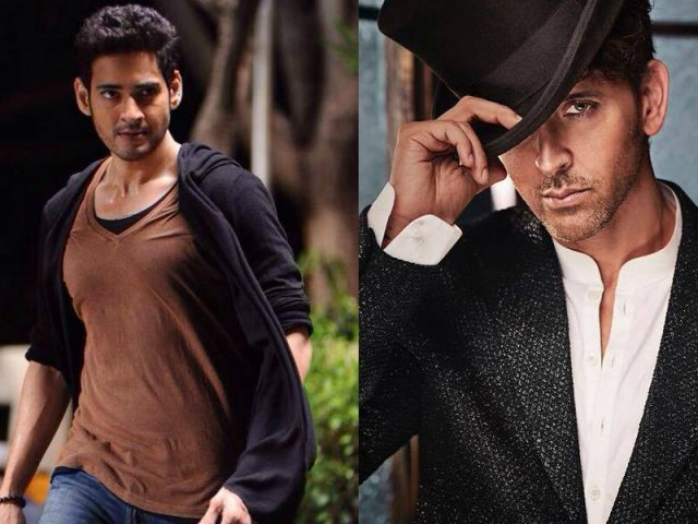 Hrithik Roshan and Mahesh Babu