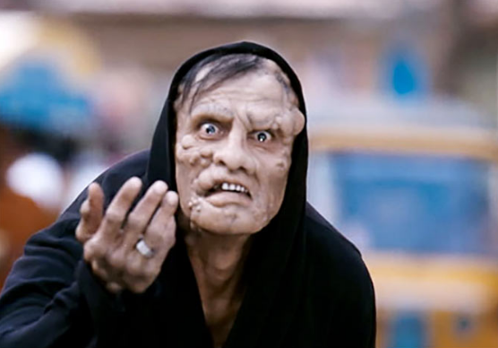 Vikram as a deformed man in I